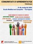 III Trobada de Comunitats d'Aprenentatge de Catalunya – 17 de Maig de 2014.
