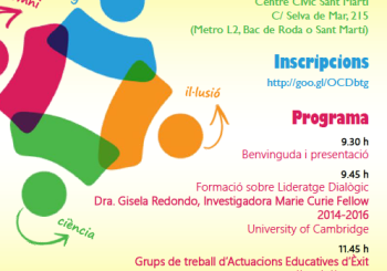 V Trobada de Comunitats d'Aprenentatge de Catalunya 2016