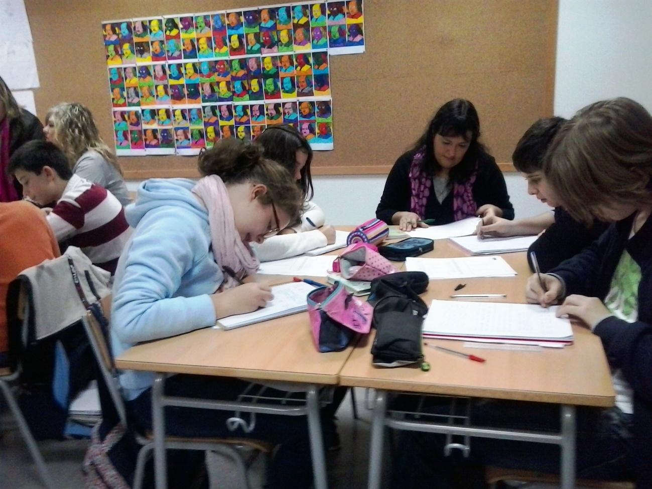 II  JORNADA DE COMUNITATS D'APRENENTATGE (14 d'abril de 2014). GRAU DE GANDIA