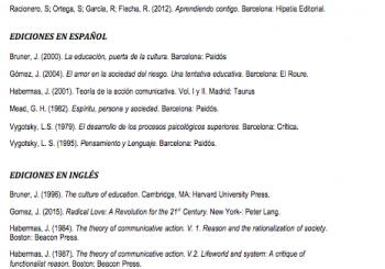 Libros para las Tertulias Pedagógicas Dialógicas