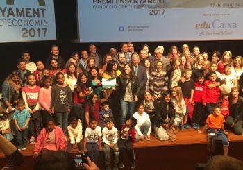 La  CdA Joaquim Ruyra galardonada con el Premi Ensenyament 2017